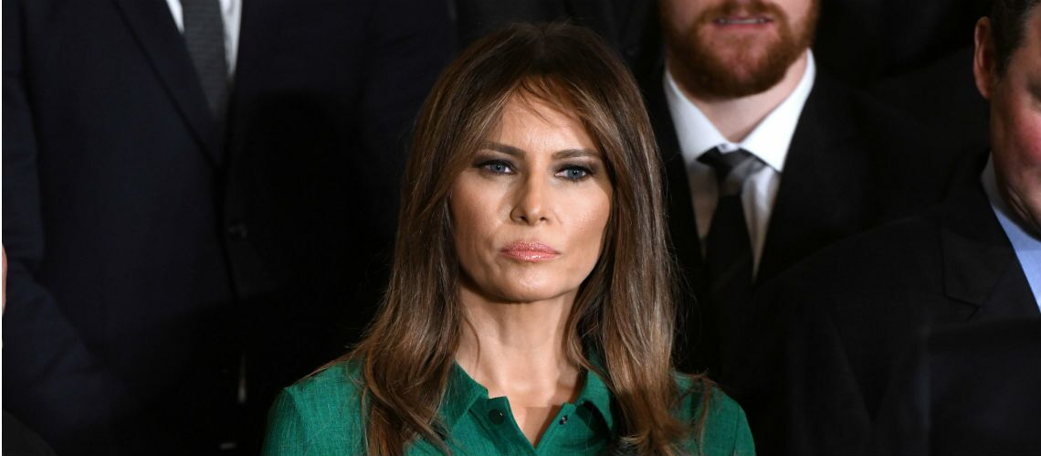 PHOTOS – Melania Trump, surprend en portant la robe d'une autre première dame