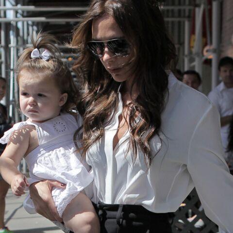 L'oeil de Katia: Victoria et Harper Beckham, fashion siamoises