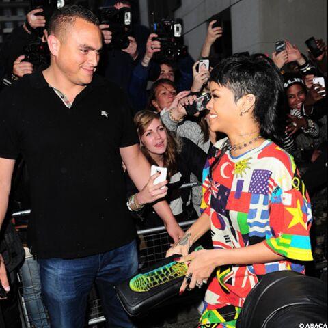 Rihanna prise la main dans le sac