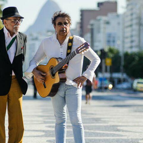 PHOTOS – Laurent Voulzy: dans son nouveau clip, la dernière apparition d'un géant de la samba