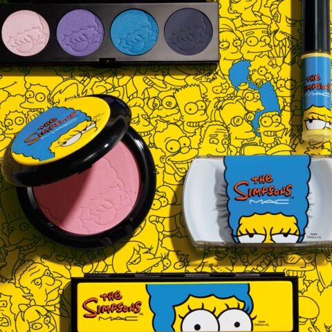 Dans le vanity de Marge Simpson