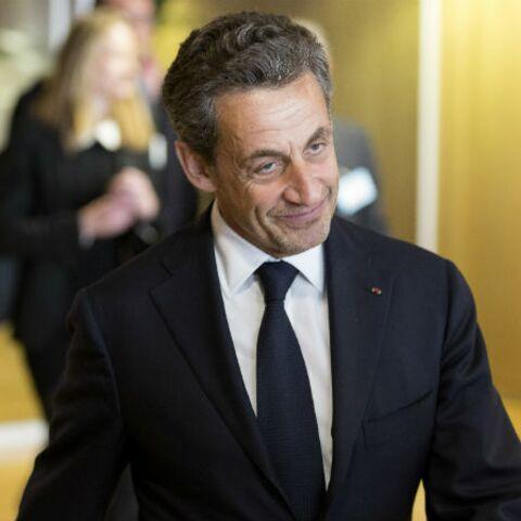 Nicolas Sarkozy parle. Mais seulement de Belmondo!