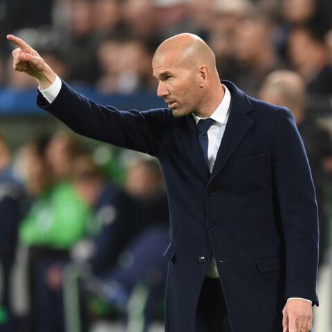Quand Zinedine Zidane fait craquer son pantalon