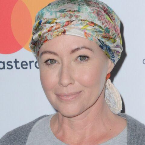 PHOTOS – Shannen Doherty: après son traitement contre le cancer, ses cheveux repoussent