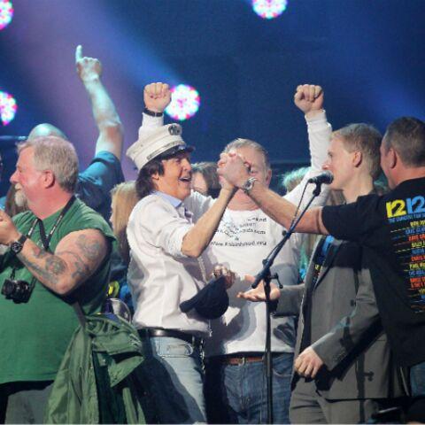Photos- Paul McCartney et ses copains en musique pour la bonne cause