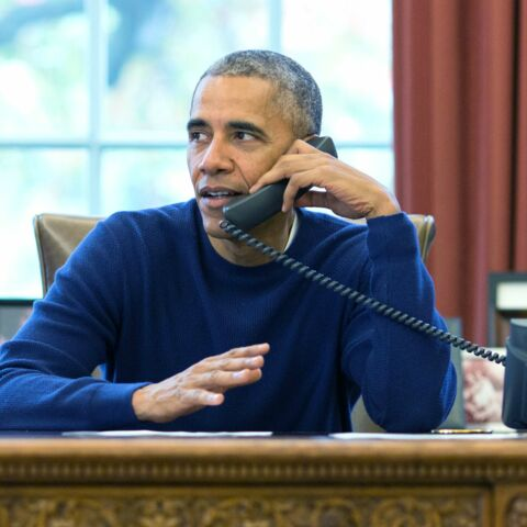 PHOTO- La dernière carte de vœux des Obama depuis la Maison blanche
