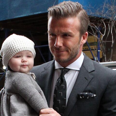 David Beckham et son it-bébé à New York