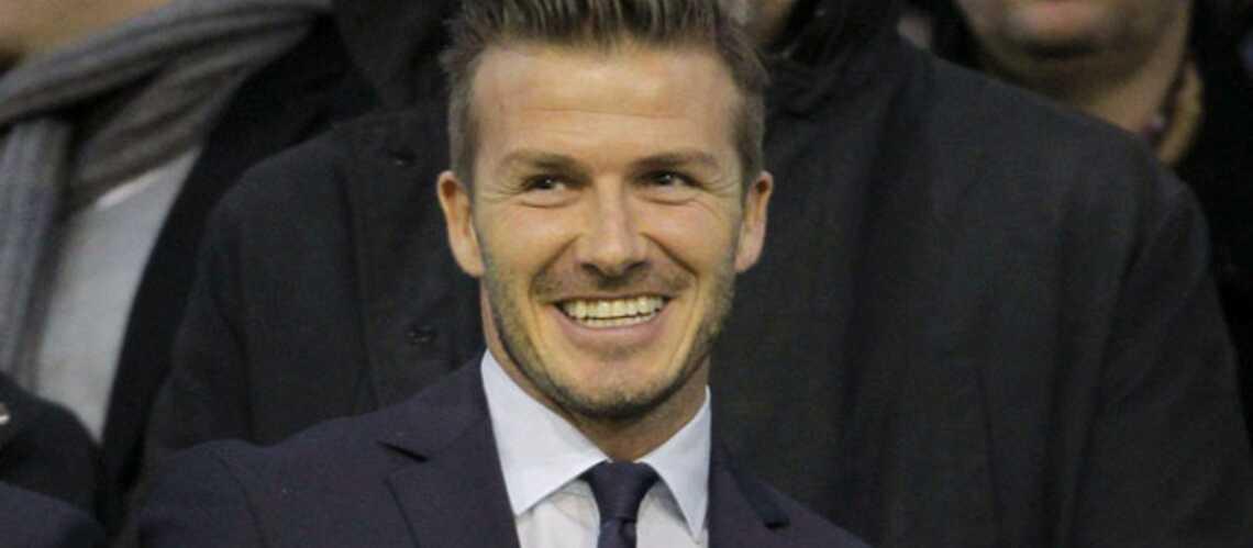 David Beckham: premier match en tribunes avec le PSG