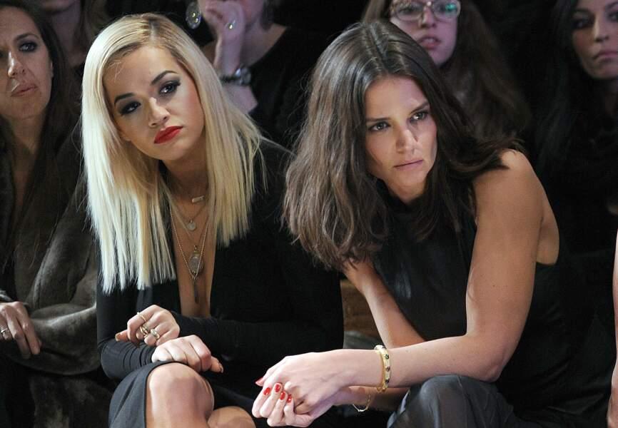 Katie Holmes et Rita Ora au show Donna Karan