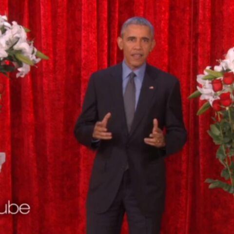 Vidéo – La «chaude Saint-Valentin» du couple Obama