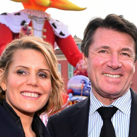 PHOTOS – Christian Estrosi et sa femme Laura (du web) très amoureux pour le carnaval de Nice