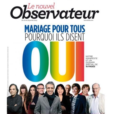 Juliette Gréco, Laurent Ruquier, Roselyne Bachelot contre la «manifestation pour tous»