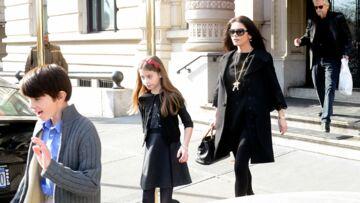 Michael Douglas et Catherine Zeta-Jones: les enfants d'abord