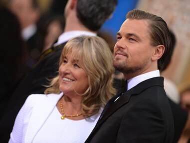 Leonardo DiCaprio et sa mère Irmelin sur les tapis rouges.