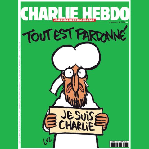 Charlie Hebdo: Mahomet à la une du numéro des survivants