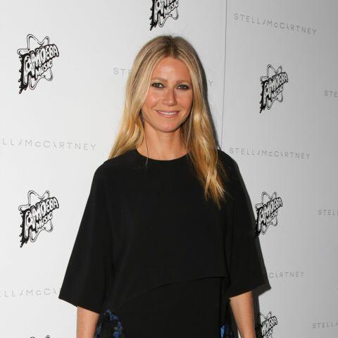 Les boots bleues de Gwyneth Paltrow