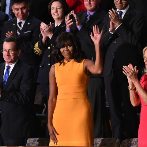 Michelle Obama, sa robe jaune les rend folles