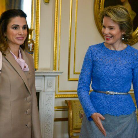 Rania de Jordanie et Mathilde de Belgique, ambassadrices de la paix