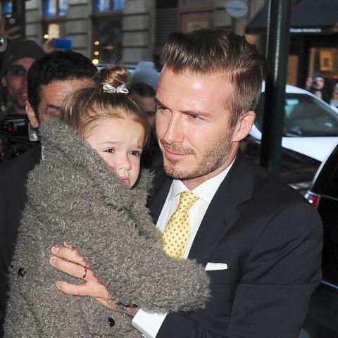 David Beckham: Harper le rend fou