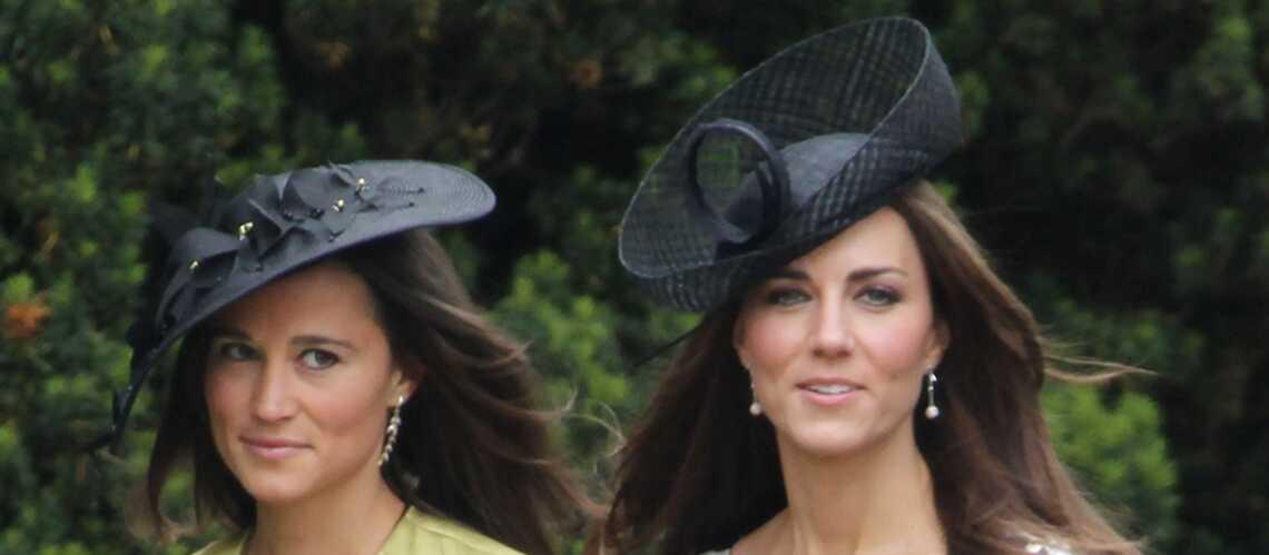 VIDEO – Kate Middleton, 9 ans, et sa sœur Pippa, 7 ans, s'amusent lors d'un mariage