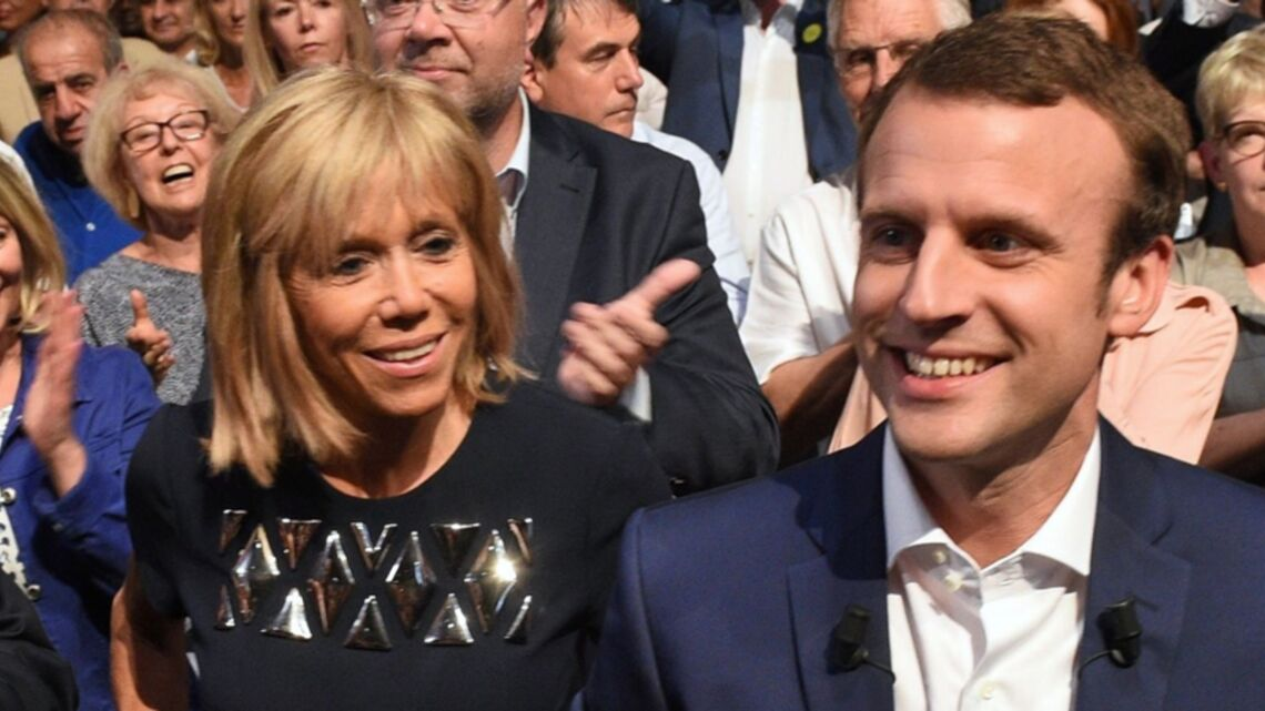 VIDEO – Brigitte Trogneux et Emmanuel Macron ont peaufiné ensemble le discours de candidature