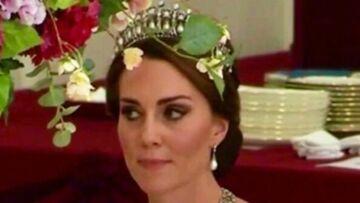 PHOTOS – Kate Middleton rend hommage à Lady Diana en portant la mythique tiare de la princesse de Galles