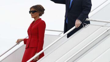 PHOTOS – Melania Trump: pour sa visite à Paris, elle s'inspire à nouveau de Jackie Kennedy