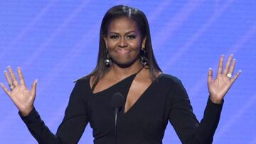 PHOTOS – Michelle Obama: canon en petite robe noire, elle signe son retour fashion