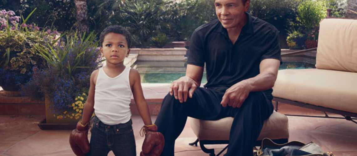 Mohamed Ali et son petit-fils shootés par Leibovitz pour Vuitton