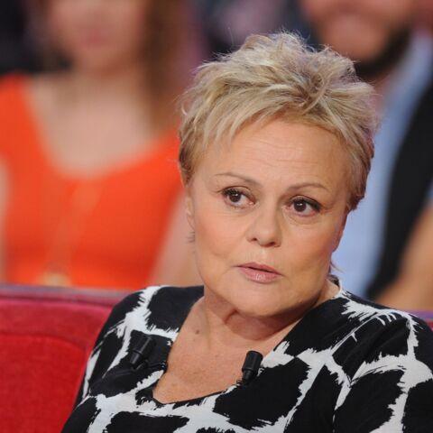 Muriel Robin au repos forcé jusqu'en 2017