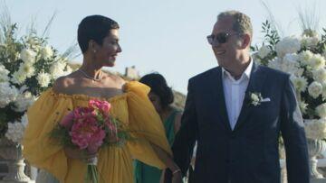 Cristina Cordula: découvrez pourquoi elle portait une robe de mariée jaune