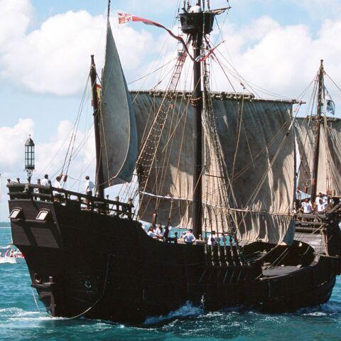 Le bateau de Christophe Colomb refait surface