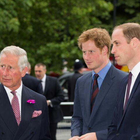 Les princes Charles et William victimes du cour-roux d'un terroriste