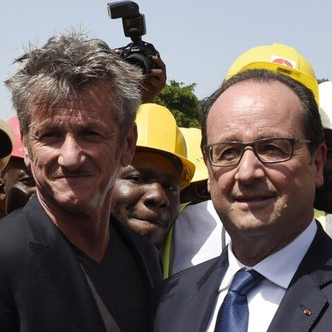 Sean Penn et François Hollande s'envoient en l'air