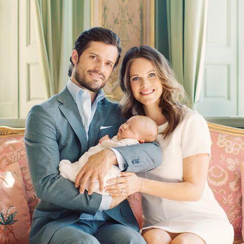 Carl Philip et Sofia de Suède offrent une nouvelle photo de leur bébé