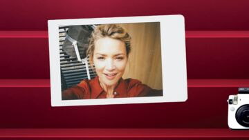 Cannes Backstage by Instax – Virginie Efira, quelle fraîcheur !