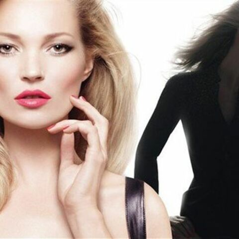 Kate Moss, lipstick addict