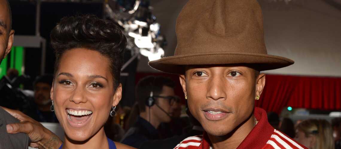 Alicia Keys et Pharrell Williams dans la toile de Spider-Man