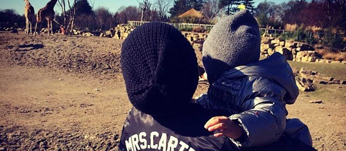 Beyoncé, au zoo avec la petite Blue Ivy
