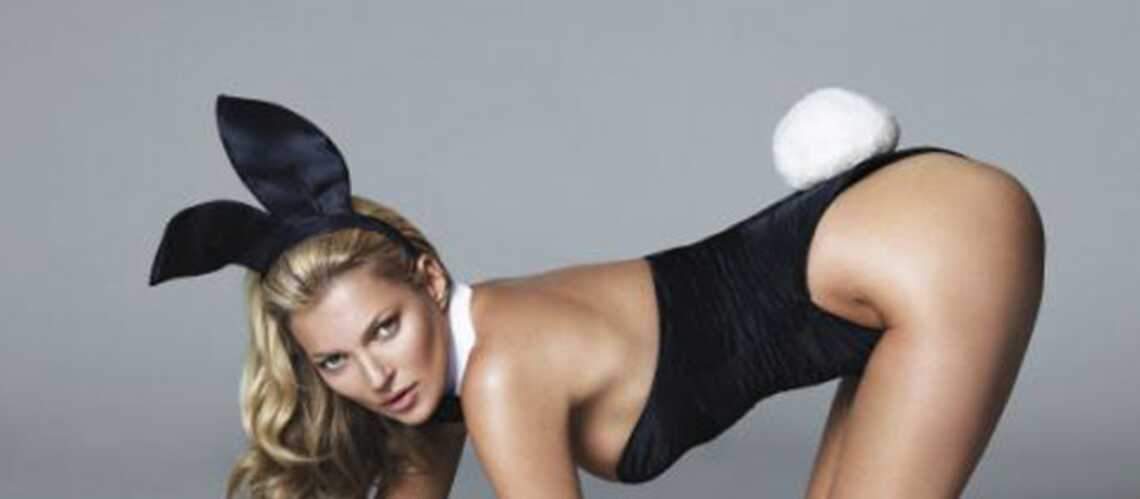 Kate Moss, sexy bunny