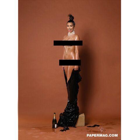 Kim Kardashian nue: la face cachée de la star dévoilée
