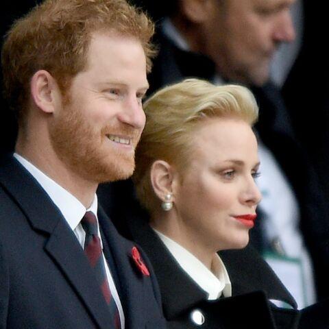 PHOTO – Charlène de Monaco et le Prince Harry côte à côte pour un match de rugby