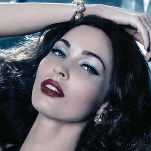 Megan Fox, perle glamour