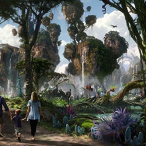 Photos- Un parc d'attraction Avatar en 2017