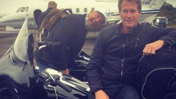 Photos – George Clooney et son meilleur ami bouclent leur roadtrip en moto