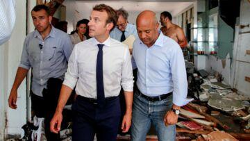 A St Martin Emmanuel Macron n'a pas dormi à l'hôtel: lit de camp et douche au seau d'eau, le président vit à la dure