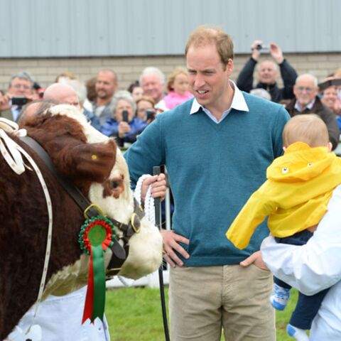 Photos- Prince William: heureux et bavard à propos du prince George
