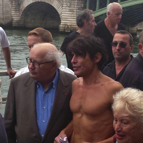 Arno Klarsfeld, torse nu à «Tel-Aviv sur Seine»