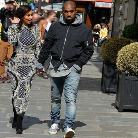 Kim Kardashian et Kanye West, leur pré-lune de mile à Paris