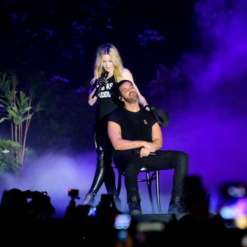 On sait pourquoi Drake n'a pas aimé embrasser Madonna